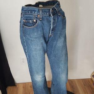 Vintage 80s 90s Levi's 501 Unisex Large Denim Jean